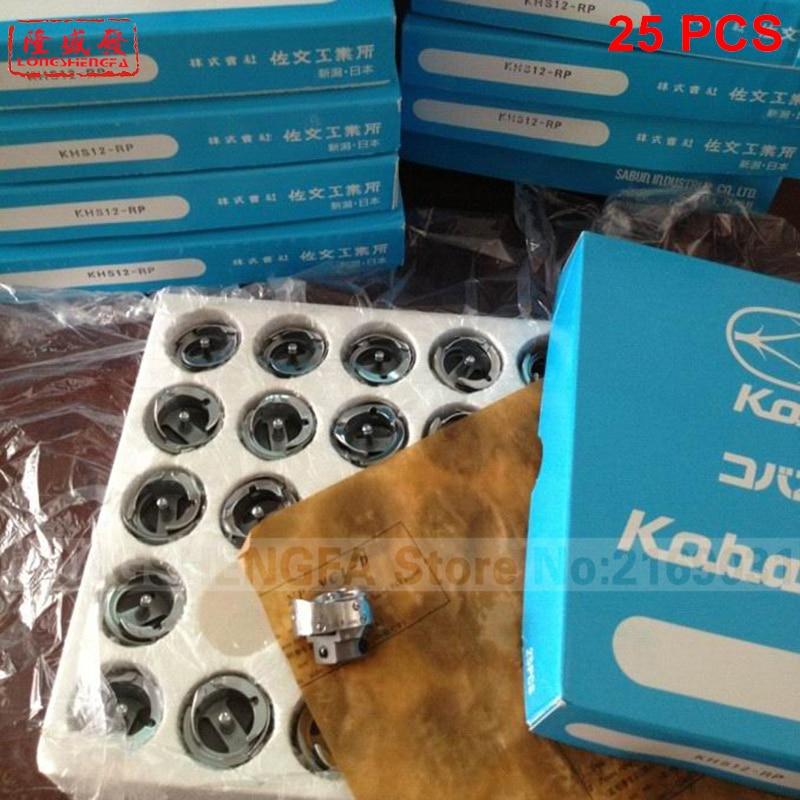 25pcs KHS12 RP Koban rotary hook Tajima Barudan SWF Melco TOYOTA Feiya ZGM Embroidery machine HOT SALE ORIGINAL Authentic