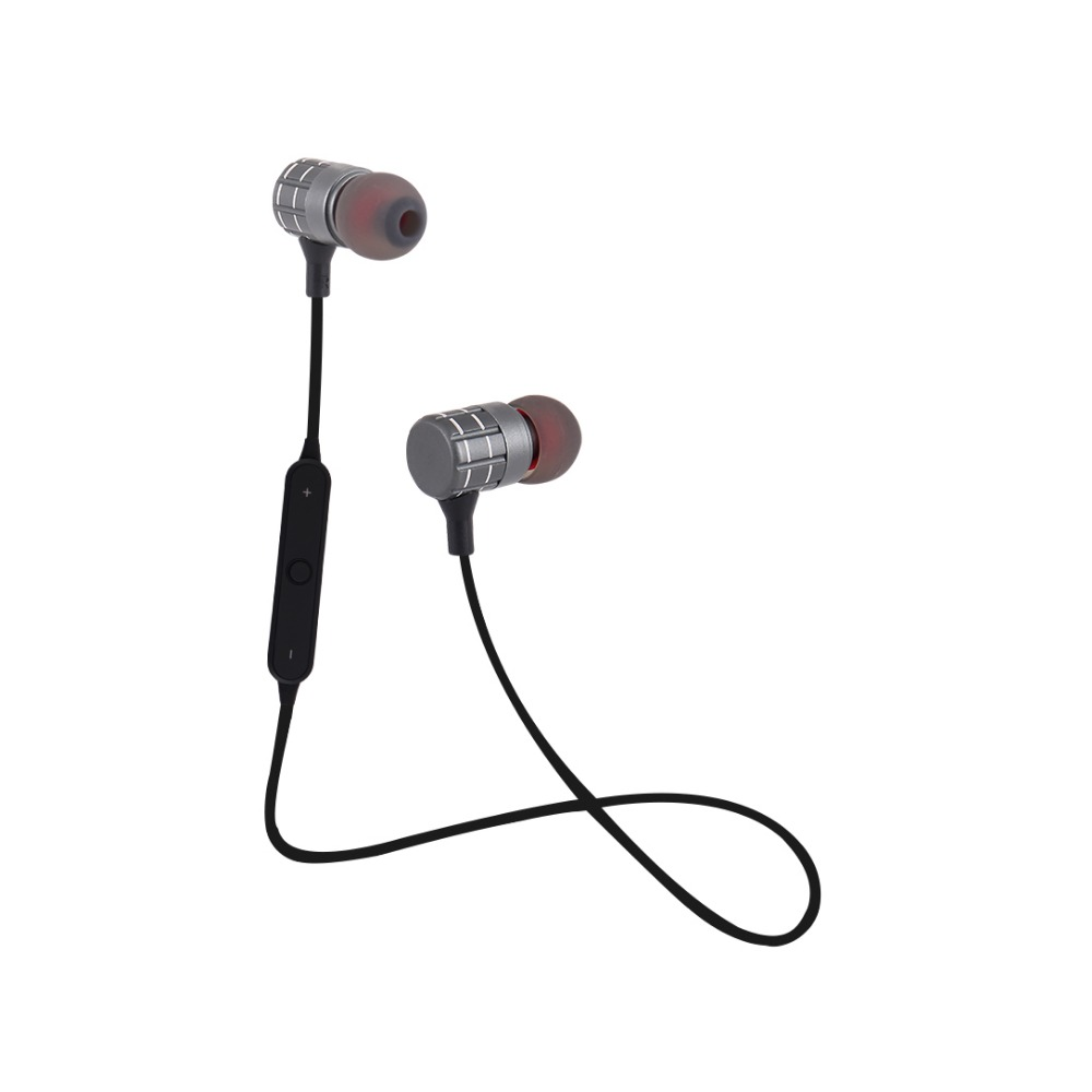 Metal PTM Headphone Bluetooth 4.1 YCH29 Earphone Wireless Headset BT Earbuds with Mic for Mobile Phone DJ PC Gaming