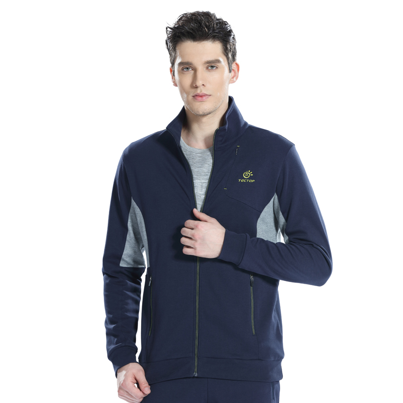 Orologi E Gioielli Open-Minded Mens Sports Jackets Male Sportswear Sweatshirts Breathable Cotton Sport Jacket Men Running Hiking Tracksuits Running Jacket Coat Available In Various Designs And Specifications For Your Selection