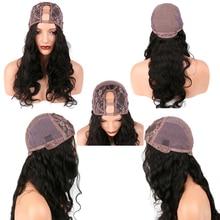 250% Density U Part Wig Human Hair 2×4 Inch Opening U Part Barzilian Wig Kinky Curly Wig Remy