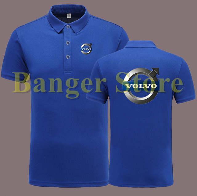 13023eea20 placeholder Volvo 4S loja de camisa PÓLO de manga curta macacão roupa de  trabalho para homens e