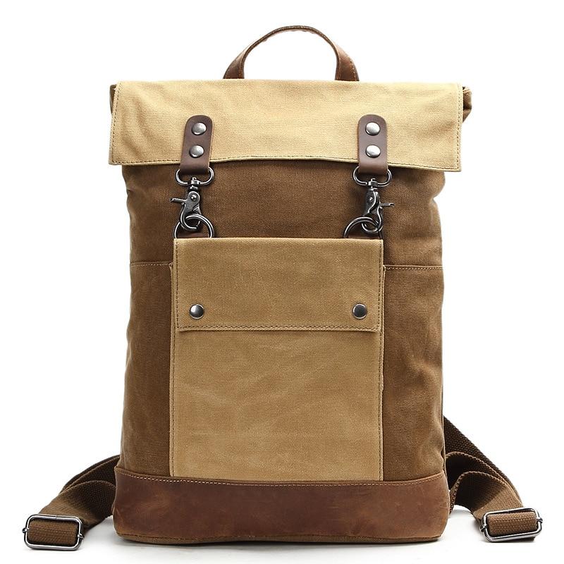 YUPINXUAN Luxury Vintage Waterproof Laptop Backpacks for Men Luxury Retro  School Bags Teenagers Large Capacity Daypacks 09f717ba57e30