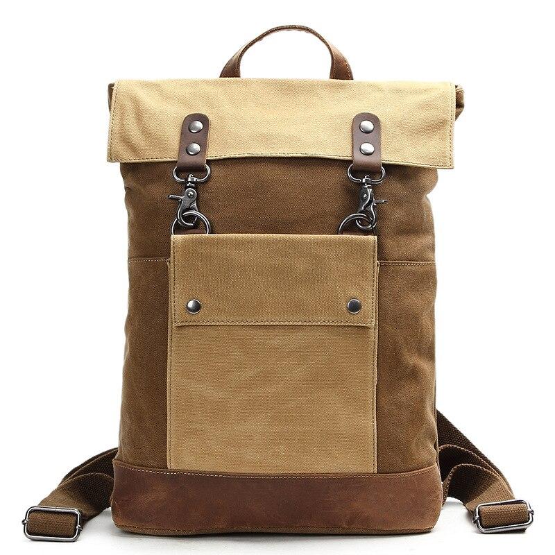 YUPINXUAN Роскошные Винтаж водостойкий ноутбук рюкзаки для мужчин Роскошные Ретро школьные ранцы подростков большой ёмкость Daypacks русский