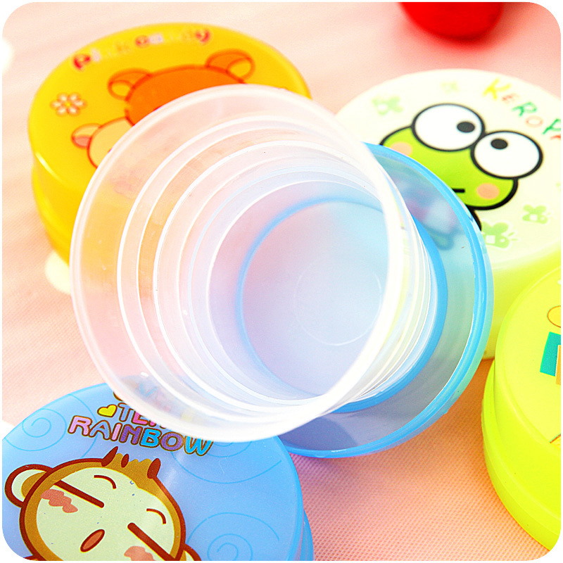 Fold Telescopic Cup End 1pcs Randomly Creative Travel Accessories Portable Multifunction Unisex Security Packing Organizers