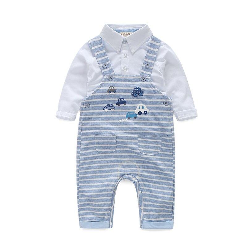Newborn Infant Boy Clothing Spring Autumn Baby Boy Clothing Set Fashion Underwear Vetement Garcon Straps Bebek