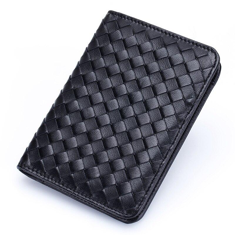 Protège-passeport de voyage en cuir véritable housse de passeport affaires porte-carte de crédit portefeuille russe porte-documents - 2
