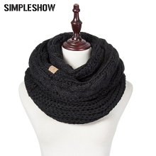 SIMPLESHOW CC 2018 Fashion Winter 숙 녀 Scarf Soft 및 편안한 Solid Color Warm 대 한 Women 스카프 숄 도매(China)