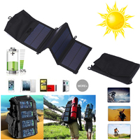 BCMaster Univeral 7W 5V Solar Power Panel Battery Charging Charger For Cellphone Mp3 MP4 Boat Voltage Regulator Portable