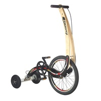 Tricycle Fitness Running Bicycle Standing Happy Sports Folding Sliding Bike 20 Inchs City Walking Cycling Without Seat Foldable