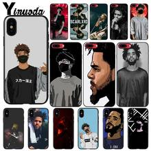 Yinuoda scarlxrd j cole diy 전화 케이스 iphone 11 pro max x xs max 6 6 s 7 8plus 5 5 s xr(China)