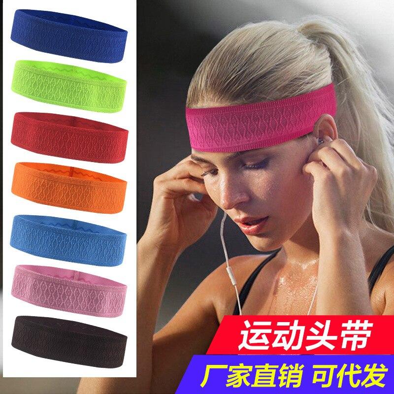 Sport Sicherheit Sport & Unterhaltung Sport Yoga Gym Stretch Stirnband Kopf Band Haar Band Schweiß Schweißband Mens Frauen Laufschuhe