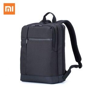 Image 1 - Xiaomi Mi 배낭 클래식 비즈니스 배낭 17L 대용량 학생 노트북 가방 남성 여성 가방 15 인치 노트북 내구성