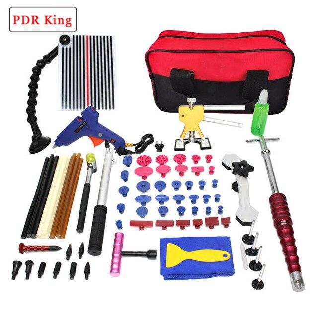 DIY pdr kitPDR Tools For Dent Removal Paintless Dent repair tools line board Reflector Dent Repair Tools slide Hammer Glue Tabs