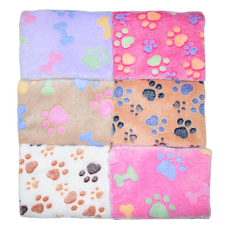 Manta suave de lana para para perros y gatos 2