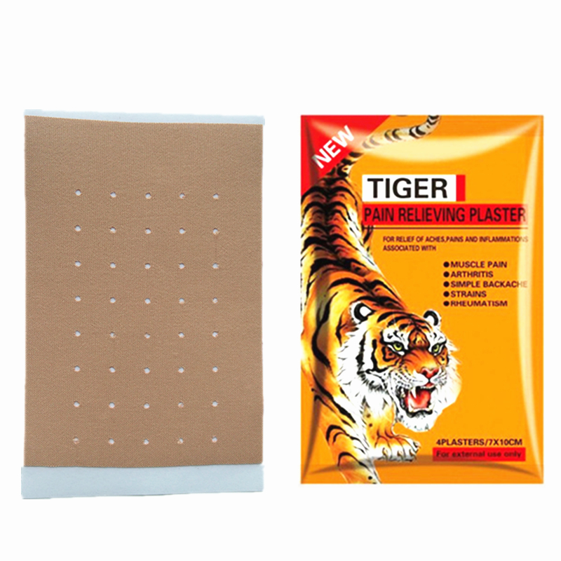 100pcs 25bags New Tiger Balm Plaster Patches Muscle Neck Joint Pain Patch Body Knee Rheumatoid Arthritis Pain Patch Health Care in Patches from Beauty Health