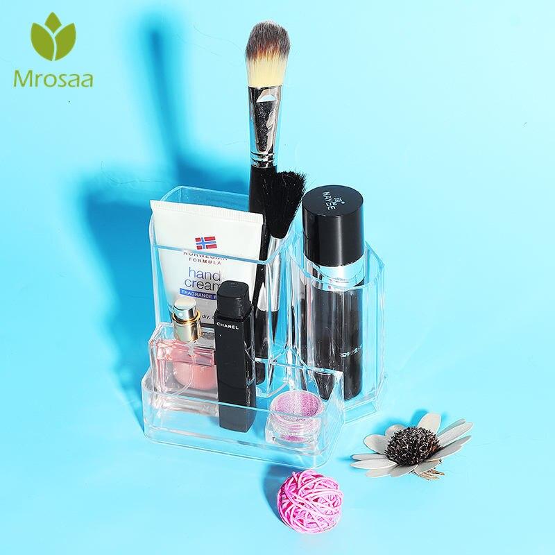 Charitable Meyjig Plastic Cosmetic Storage Box Desk Makeup Remote Control Case Brush Lipstick Holder Office Bathroom Organizer Home & Garden
