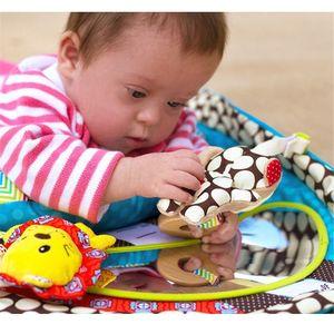 Image 4 - בטן זמן פעילות לשחק מחצלת ארגונומי קטיפה כרית תינוק מראה רטוב צעצועים שינוי Pad גובה למדוד תרשים