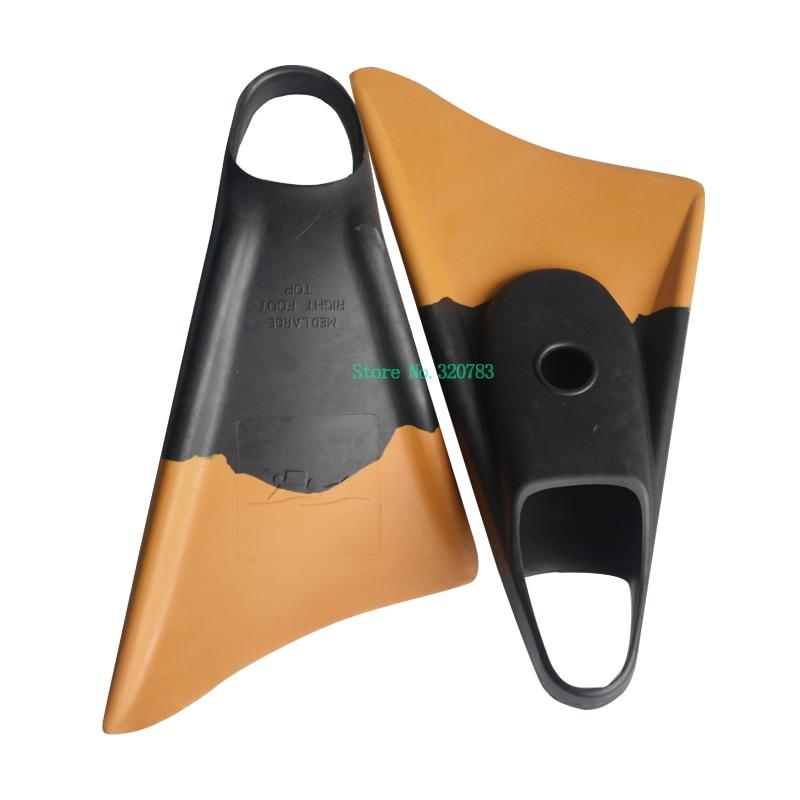 Layatone Plongée En Apnée et la Plongée Ailettes Équipement de Plongée De Natation Nageoires Courtes Plein Pied Poche Pleine Talon Palmes M Noir ailettes F-XX
