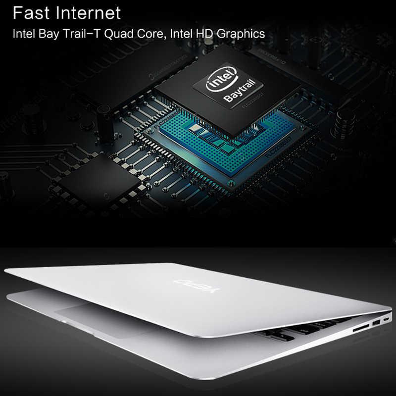 Yepo 14インチのノートパソコンのラム2グラムrom 32ギガバイトemmc ultrabook bluetooth 4.0カメラインテルベイトレイルノートブック1.33 ghzのipsスクリーンをラップトップ