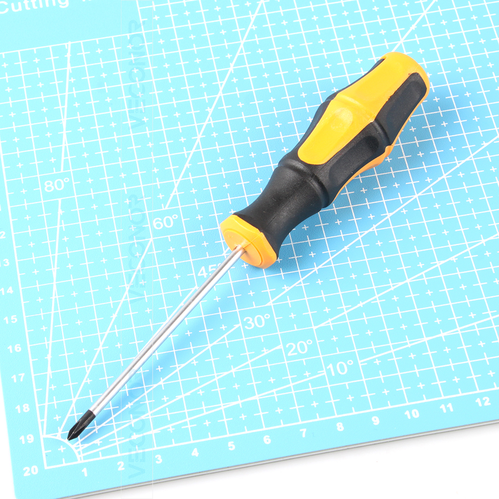 Magnetic Phillips Cross Head Screwdriver PH0x75mm