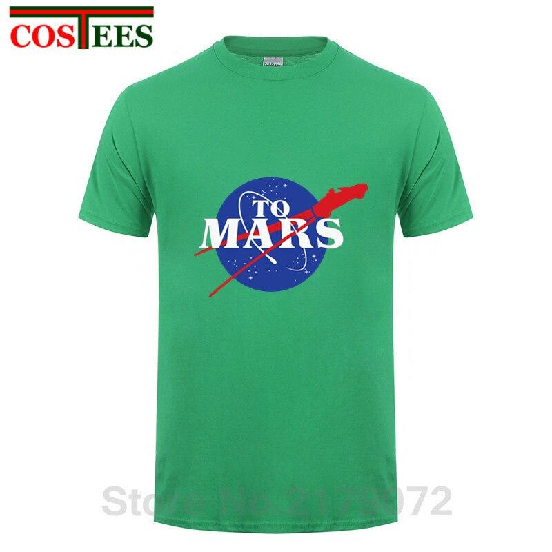 StarmanX T shirts T-shirt dos homens SpaceX Elon Musk espaço & T-shirt do carro de sua viagem a Marte starman foguete tshirt Tesla roadster Tees