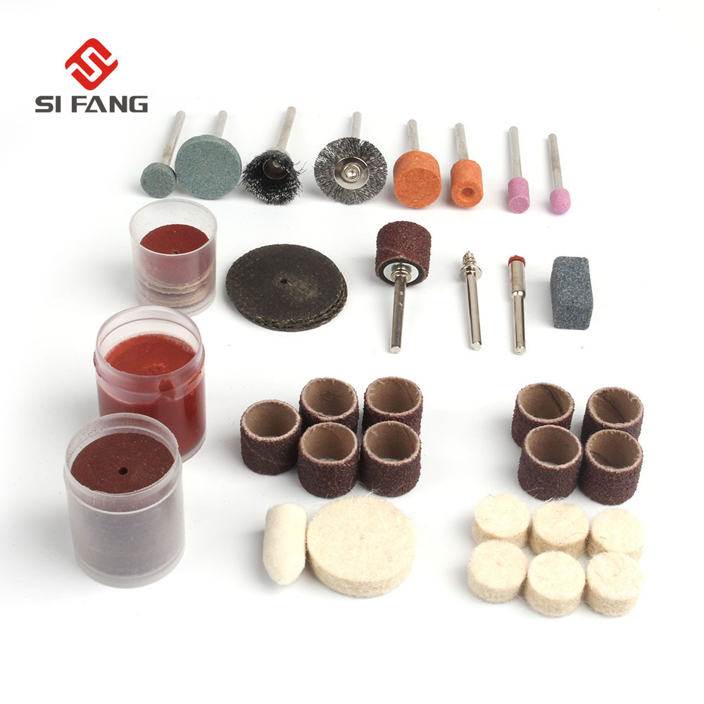 105pc Drill Bit Rotary Set Kit For Grinding Sanding Polishing Fits Dremel Tool