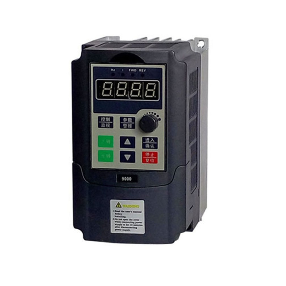 Mini Portable 0.75kw / 1.5kw-G 220V Single Phase Frequency Converter 220V 3 Phases Output Frequency Inverter Built-in User Timer 9 v7 inverter cimr v7at25p5 220v 5 5kw 3 phase new original