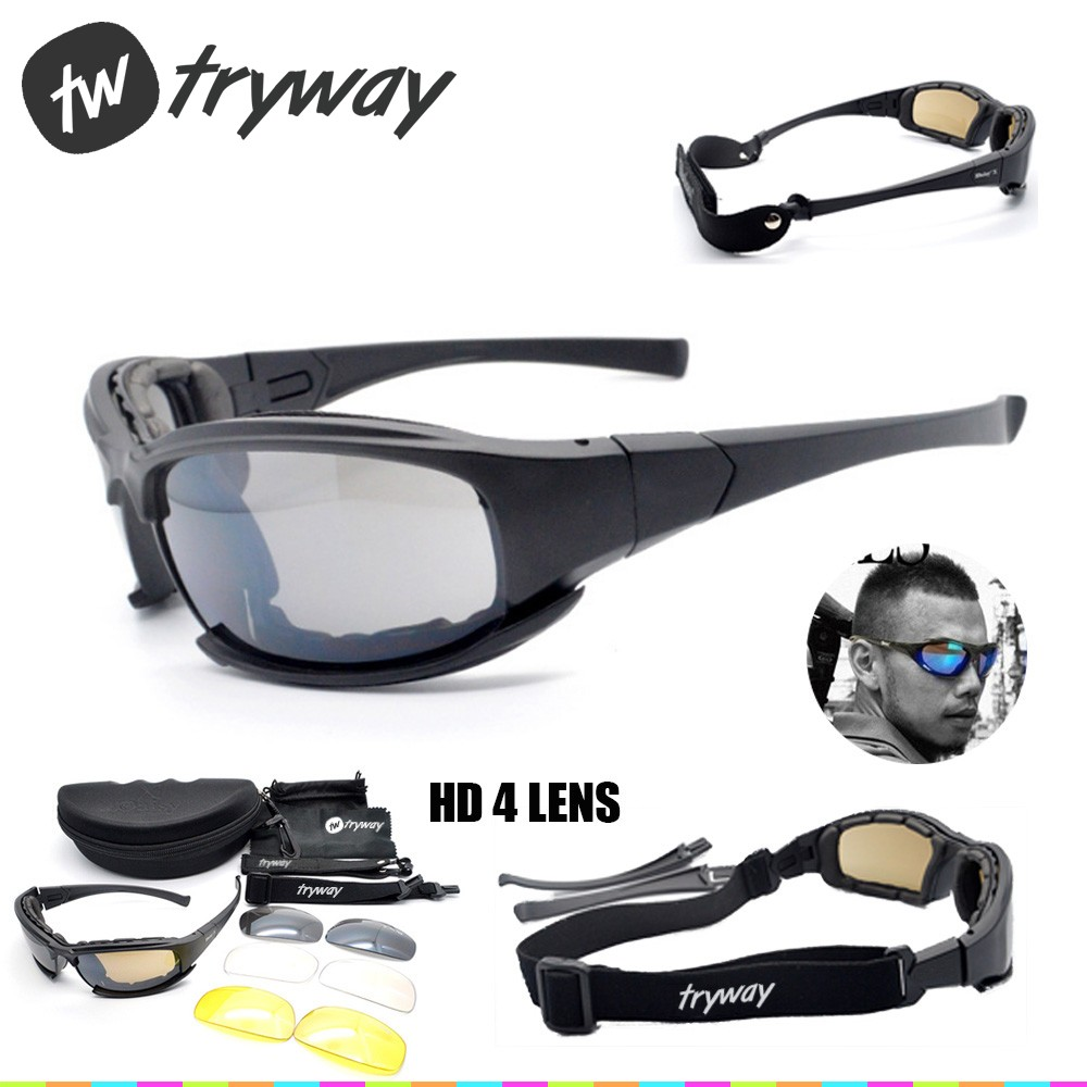 Daisy X7 Tactical Goggles Men Polarized Glasses C5 C8 Ballistic Bullet-proof Airsoft Shooting Gafas Outdoor Motocross Gafas