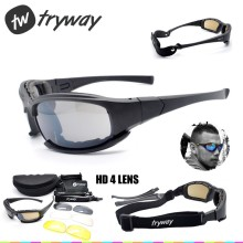 Daisy X7 тактические очки мужские поляризованные очки C5 C8 Баллистические пуленепробиваемые страйкбол стрельба gafas Открытый Мотокросс gafas