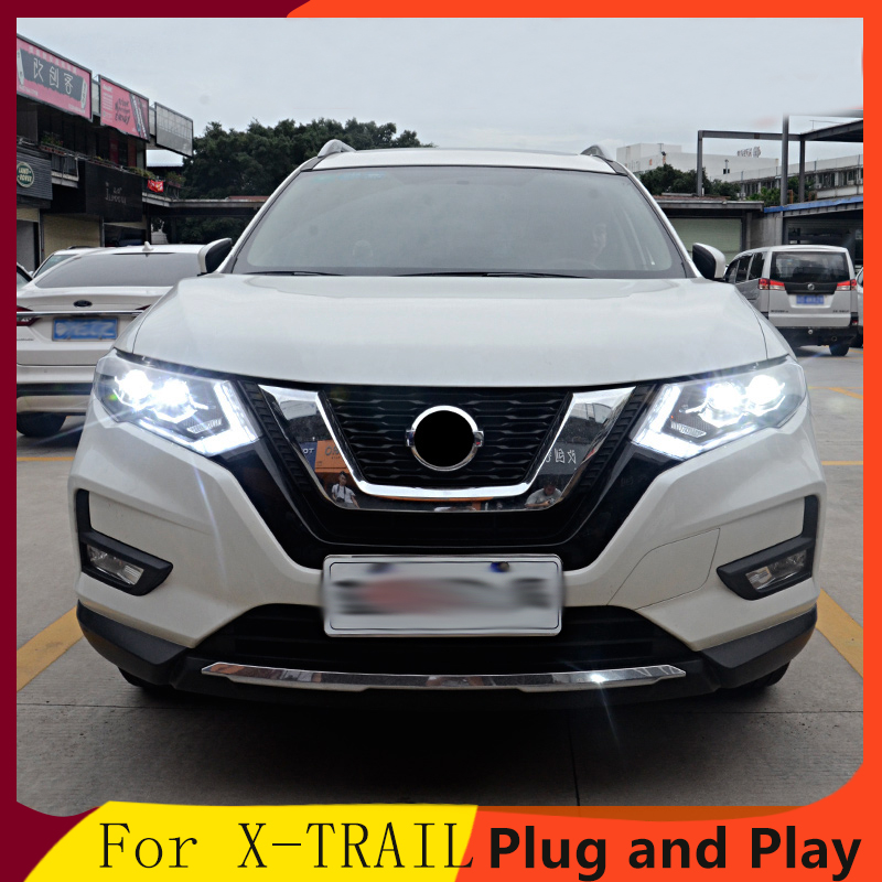Fits Nissan X-Trail T30 100w Super White Xenon HID High//Low//Side Headlight Bulbs