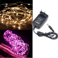 Copper Wire LED string light fairy christmas lighting 5m 50 LED holiday garden dec. warm white AC85V-265V  Free shipping 1 roll