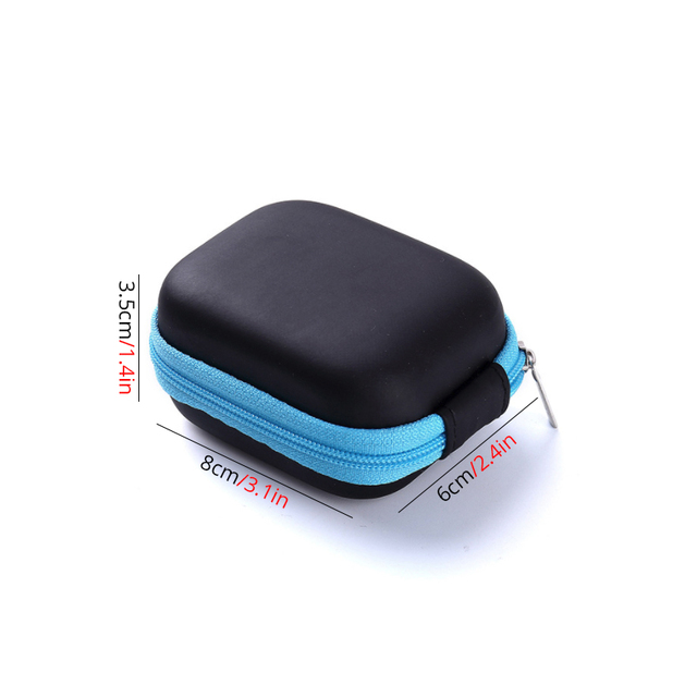 1pc 5ml Portable Essential Oils Storage Case Esential Oil Shock Absorption EVA Carrying Case 4