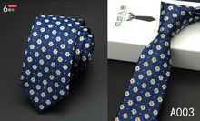 New Top Silk Necktie 2017 Men Slim Neck Ties 6cm 20 Colors Classic F For Wedding Party LD007
