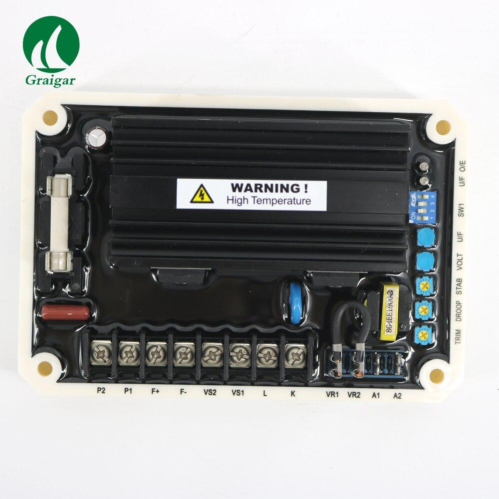 Новый EA16 AVR Генератор автоматический Напряжение регулятор использования в 220/380/440/480 В переменного тока Бесщеточный генераторы 400 гц