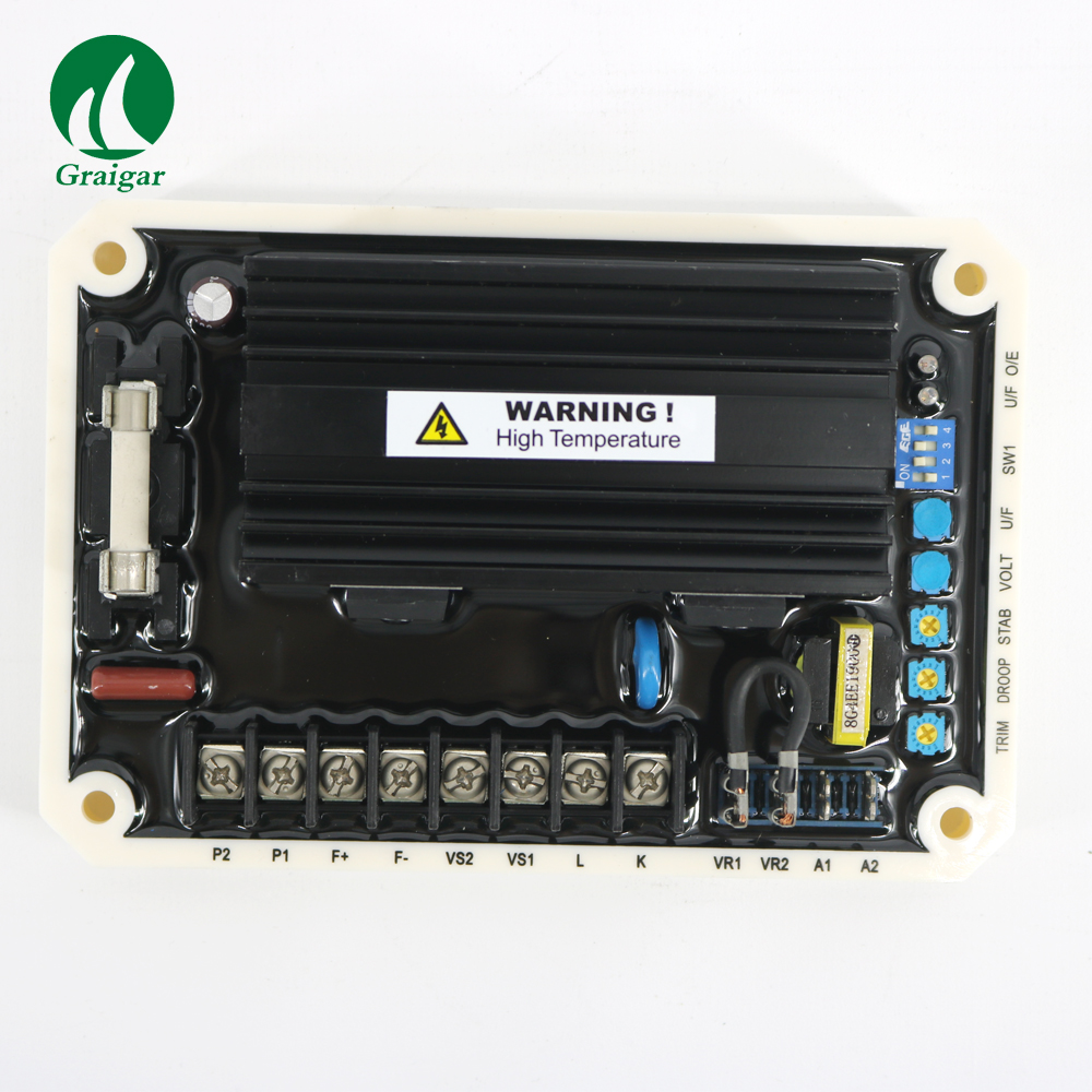 New EA16 AVR Generator Automatic Voltage Regulator use in 220 / 380 / 440 / 480 VAC brushless generators 400HZ 50 60hz automatic voltage regulator for kutai brushless generator avr ea16 free shipping