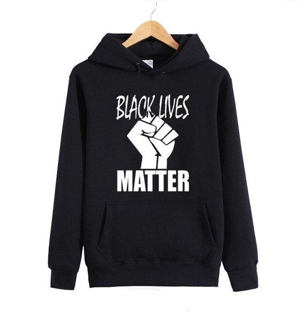 Black Lives Matter Hoodies AVAIL! ERIC GARNER-MICHAEL BROWN-PROTEST Autumn Winter Full Sleeve Hoody Sweatshirts Men Women Hooded