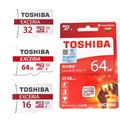 TOSHIBA  High Speed 16GB 32GB 64GB Memory Card CLASS10 SDHC/SDXC UHS-1 48M/S TF Card Micro SD Card Pass H2test  for Smart Device