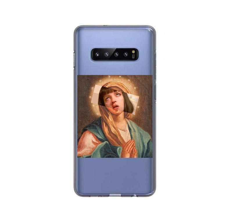 الفن لسامسونج غالاكسي S10 لايت حالة سامسونج S10E حالة سيليكون الغطاء الخلفي الهاتف حقيبة لهاتف سامسونج غالاكسي S10 زائد S6 S7 s8 S9