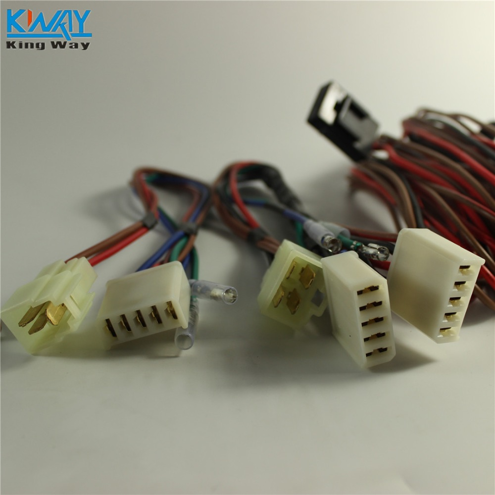 Free Shipping King Way 2 Door Car Pickup Universal Electric Power 2012 Gm Truck Window Wiring Lift Regulator Conversion Kit In Switches Relays From Automobiles