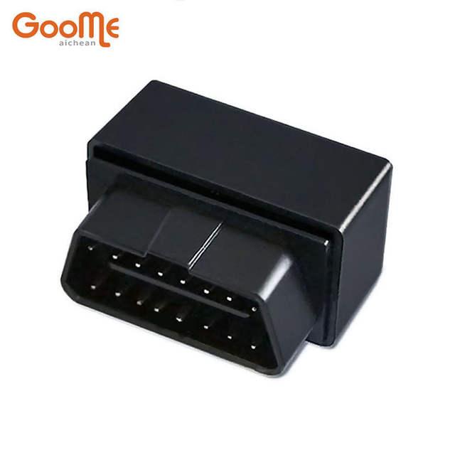OBD GPS Tracker Mini Auto OBD Car GSM Vehicle Tracking Device Small Plug  Play GPS Locator GOOME GM07W