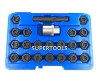 Auto Tire Repair Garage Tools For BMW 20 Key Adaptor Car Wheel Tire Lock Anti Theft Lug Nuts Tool AT2249