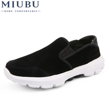 цены MIUBU Brand Fashion Summer Style Soft Moccasins Men Loafers High Quality Genuine Leather Shoes Men Flats Gommino Driving Shoes