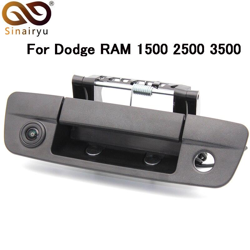 Автомобильная Стильная Камера заднего вида/автомобильная парковочная камера/Автомобильная Задняя ручка резервная камера для Dodge ram 1500 2500