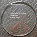 Excelente Qualidade de 16mm ~ 50mm Tamanho Selecionável 1mm TH Relógio de Vidro de Cristal, Peças de Relógio de Vidro Mineral