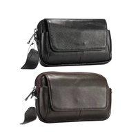 Top grade Holster skin Waist hanging Belt Clip Genuine Leather Cover Case for Doogee S80 Lite Blackview BV6800 pro BV9500 BV5800