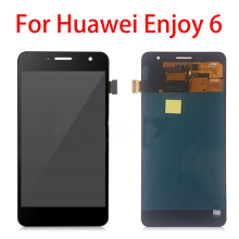 цена на 5.0 inch For Huawei Enjoy 6 NCE-AL00 LCD Display Touch Screen Digitizer Assembly for Huawei Enjoy 6 Repair LCD Display Parts