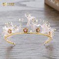 Gorgeous crystal tiara sweet  crown jewelry hair ornaments retro Baroque hairband wedding photography accessories ey061