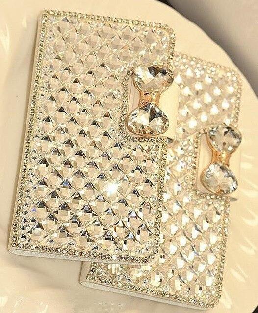 Цена за Роскошные Леди Стиль Кристалл Алмаза Кожи Сальто Телефон Case Для Samsung Galaxy J1 J2 J3 J5 J7 2016 S7 S7 S6 s6 Edge Edge Case