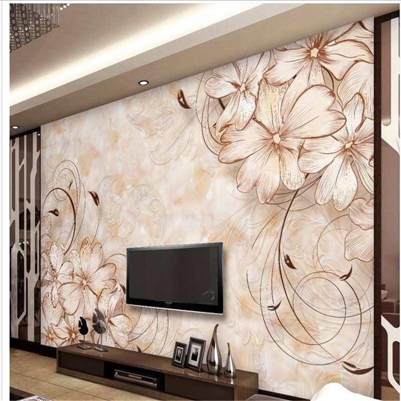 beibehang wallpaper home decoration photo background art beach flower marble living room bedroom life wall covered mural  tapete  free shipping 3d wall breaking basketball background wall bedroom living room studio mural home decoration wallpaper