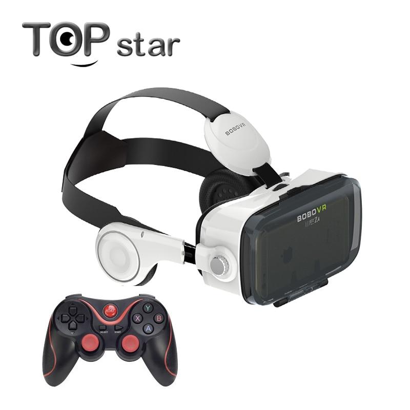 <font><b>Xiaozhai</b></font> <font><b>BOBOVR</b></font> Z4 3D Immersive <font><b>Virtual</b></font> <font><b>Reality</b></font> 3D <font><b>VR</b></font> <font><b>Glasses</b></font> Headset Private Theater With Headphone +Bluetooth Gamepad